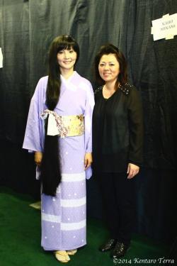 kaho minami in kimono